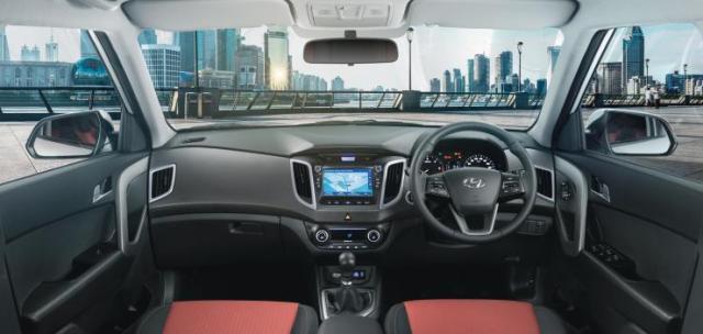 2017 Hyundai Creta Interiors
