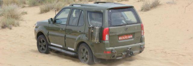Tata Safari_Army 1