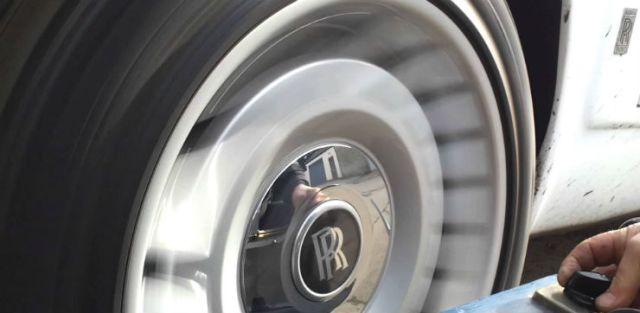 Rolls Royce wheels