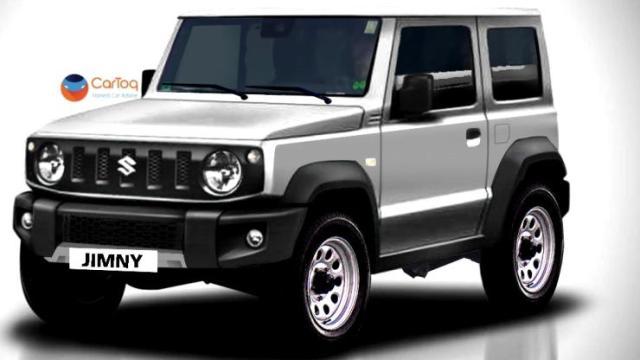 2018 Suzuki Jimny in Grey