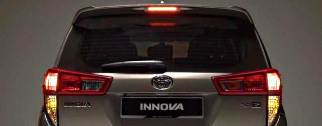 Hazard Lights on a Toyota Innova Crysta