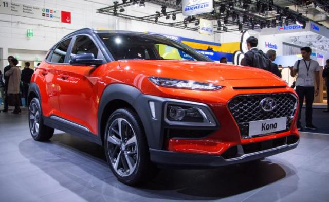 hyundai kona electric suv in india as early as 2018. Black Bedroom Furniture Sets. Home Design Ideas