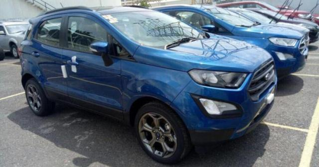 Facelifted Ford EcoSport S 1