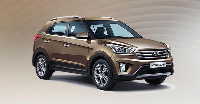 Hyundai Creta Brown