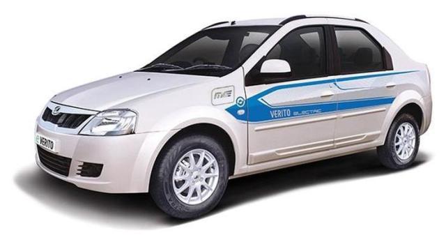 Mahindra Verito Electric 1