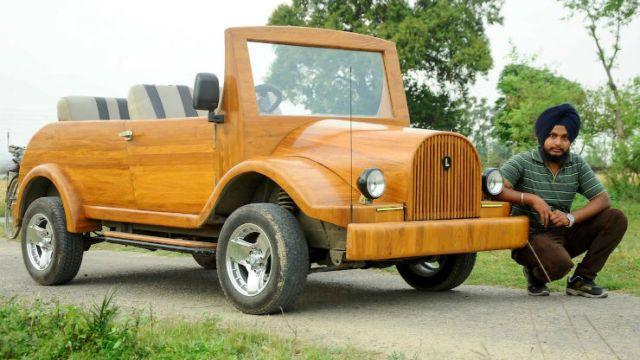 Wood Maruti_