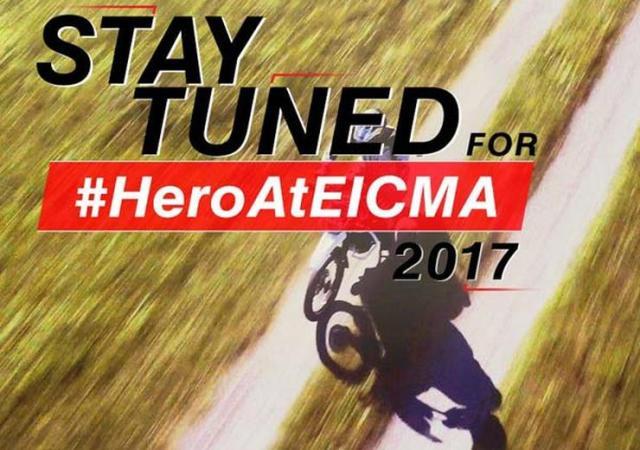 Hero Motocorp EICMA 2017 Teaser