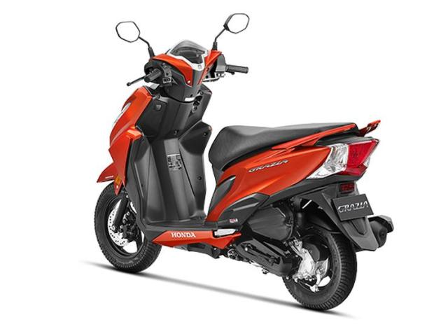 Honda Grazia Automatic Scooter 2