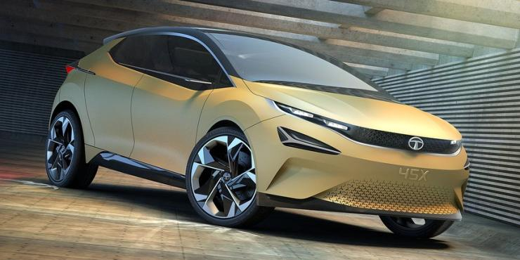 Tata 45x premium hatchback gorgeous pictures of the for Tata motors future cars