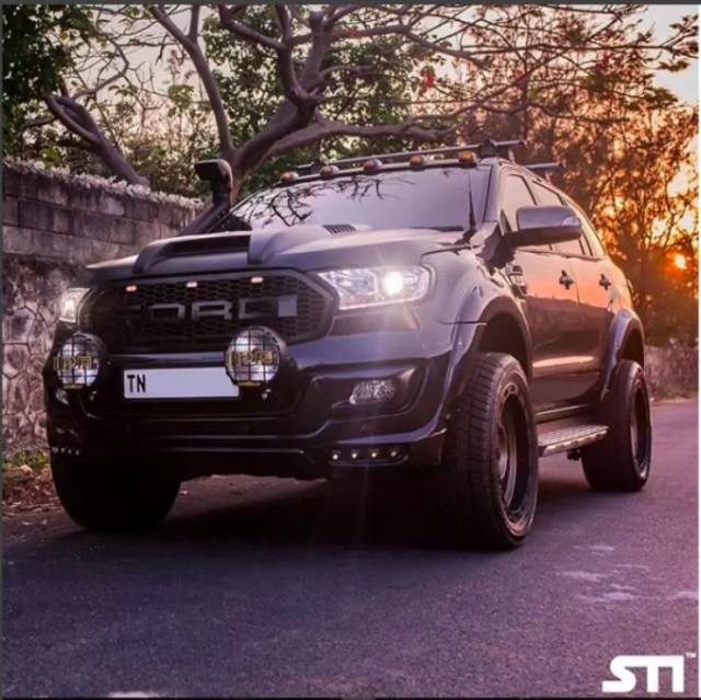 Modified Ford Endeavour Suvs Here Are 5 Badass Looking