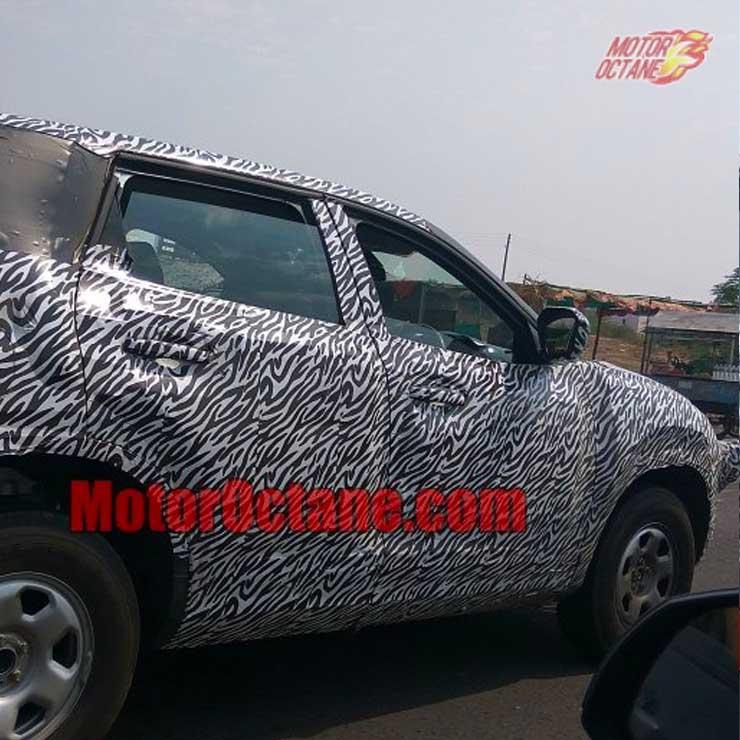 Tata H5X SUV Spy Image