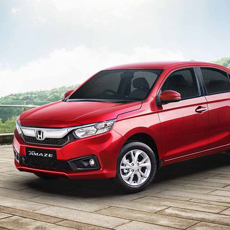 All new 2018 honda amaze compact sedan first 20 000 for Honda small cars