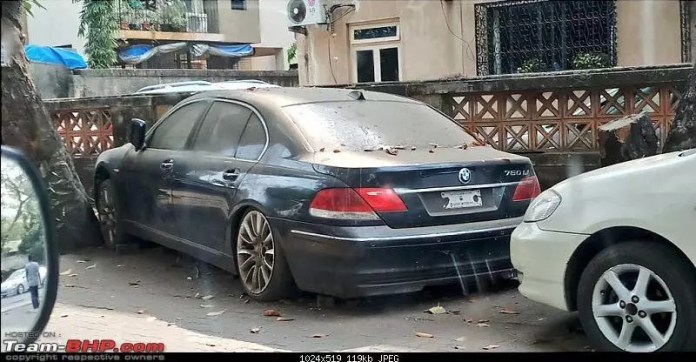 bmw 7 series abandoned cars 10