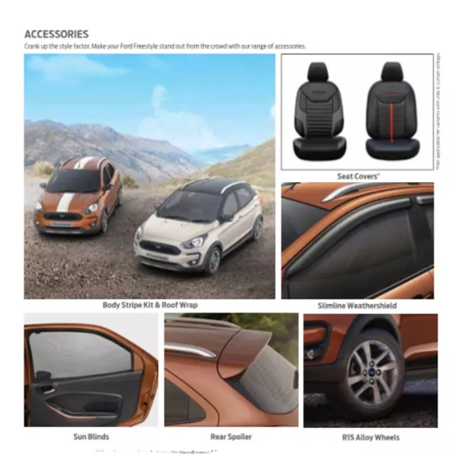 ford freestyle accessories images