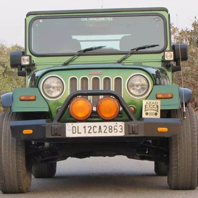 modified mahindra thar from Azad 4x4 customisation studio