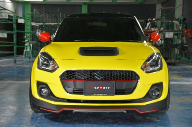 Modified New Maruti Swift Looks Oh So Sporty