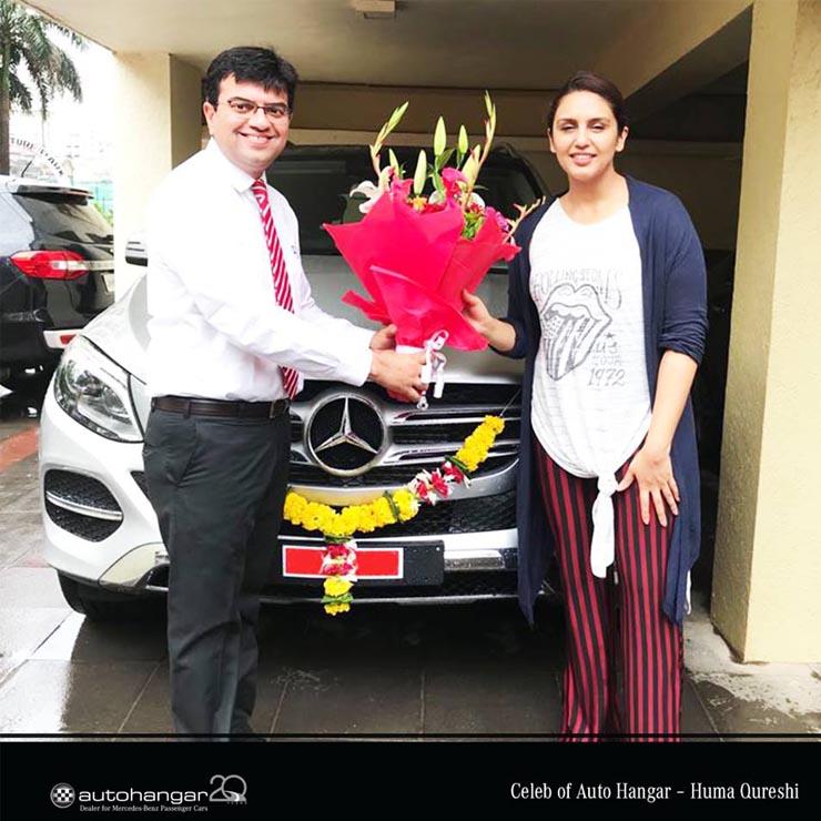 Image result for Huma Qureshi Mercedes-Benz GLE