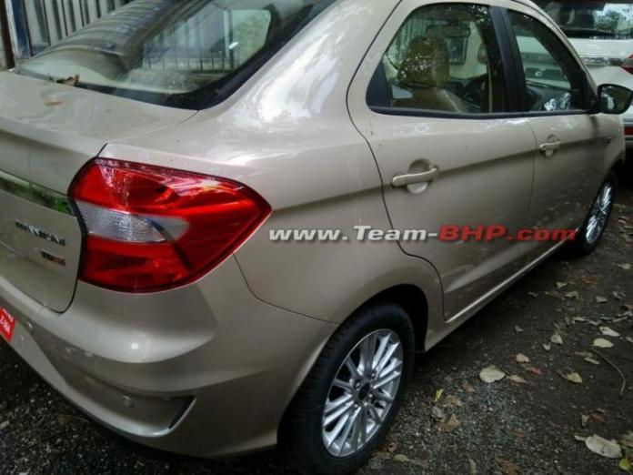 Ford Figo Aspire Uncamouflaged 4