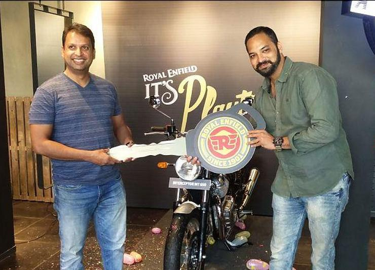 Royal Enfield Interceptor 650 Customer Delivery 1