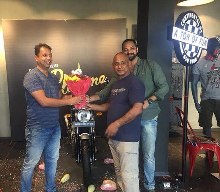 Royal Enfield Interceptor 650 Customer Delivery 2