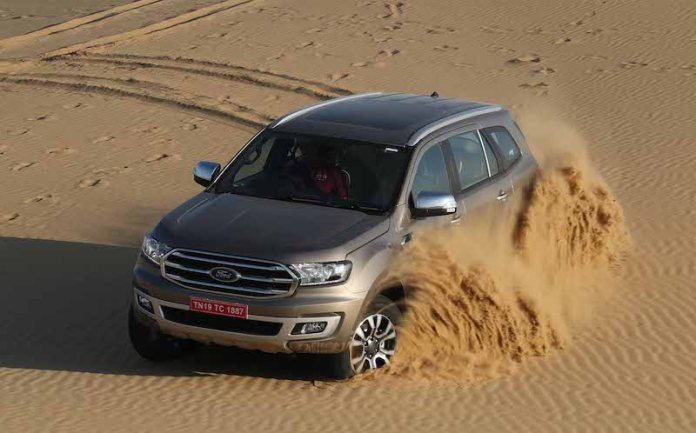 8new 2019 Ford Endeavour
