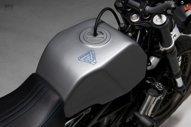 KTM Duke 390 को स्क्रैम्बलर में बदला गया