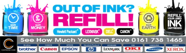 Toner Cartridges Manchester