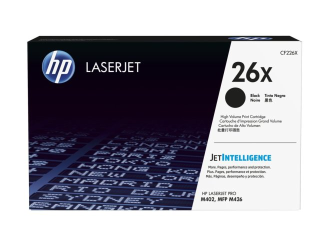 HP 26X Toner Cartridge Manchester