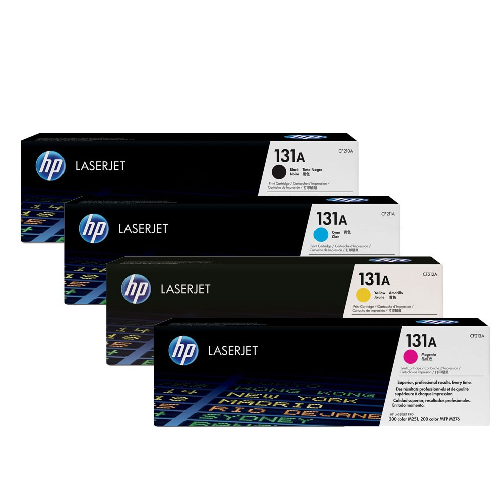 Compatible HP 131X HP 131A Toner Cartridges Manchester CF210 CF211 CF212 CF213 Toner Cartridges