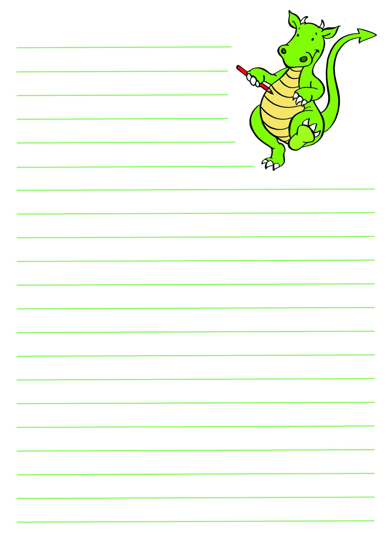 Letter Template For Kids That Are Gargantuan