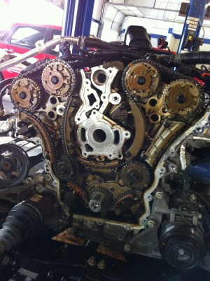 Chevy Traverse And GMC Acadia Timing Chain Problems Pictures