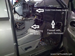 How To Replace Chevrolet Trailblazer Heater Core
