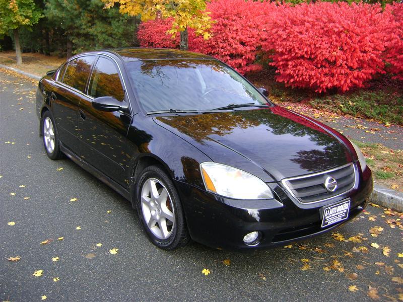 2002 Nissan Altima SE For Sale Salem MA 6 Cylinderblack