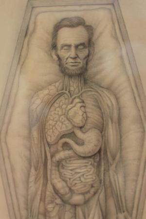 "Mark Ryden ""Abraham Lincoln"" detail"