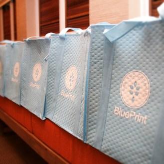 BluePrint Gift Totes