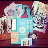 Gift tote items