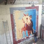 Shepard Fairey Adds Mural to 118 Winston's Indian Alley