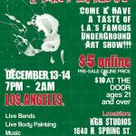 Chocolate and Art Show at KGB Studios in Los Angeles