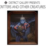 "A.S. Ashley's ""Critters and Creatures"" at The District Gallery in the Arts District"