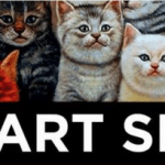 Cat Art Show at 101/Exhibit in Hollywood