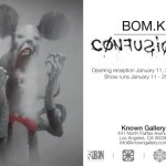 BOM.K Confusion at Known Gallery on Fairfax