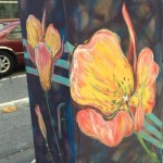 "Street Artist ""Random Act"" Beautifies New Electrical Box on 7th and Spring, Downtown"