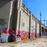 Cartwheel Art  Brings Obscura Society LA to Arts District Bridges