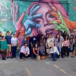 """Save the Date: Cartwheel Art Tour for the LA Art Show, """"The Development of An Art Scene and The Art of Development""""."""