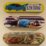 """Agents Provocateurs: Subversive Skateboard Graphics & Artworks"" at Subliminal Projects"