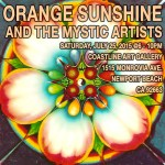 Let the Orange Sunshine In with the Mystic Artists!