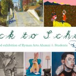 Back to School : A juried exhibition of Ryman Arts Alumni & Students at RAWSalt Fine Art Gallery in Laguna Beach