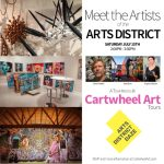 "Save the Date: ""Meet the Artists of the Arts District"" with Cartwheel Art Tours – July 15th"