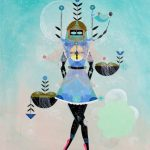 "Save the Date: ""Space Angels"" by Bunnie Reiss at Superchief Gallery – November 4th"