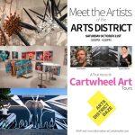 """Cartwheel Art Tours: """"Meet the Artists of the Arts District"""" (An Arts District Daze Event)"""